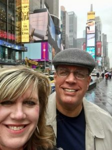 Pastor Rick and Sis. Judy in NYC for Missions Conference.